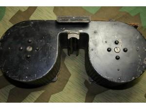MG34 DoppelTrommel WWII German MG15 MG-34 Drum magazine