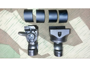 Mauser Turret Sniper Scope Mount with Split Rings German K98 High Turret Mount