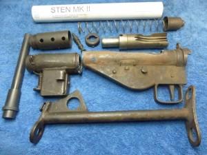 Sten Kit British MkII Parts Set Ready to Build