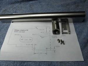 PPS-43 Parts Kit Receiver Trunnion Rivet Set pps43