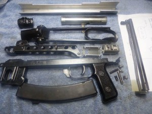 PPS43 Parts Kit  With Chrome Lined Barrel Ready to Build